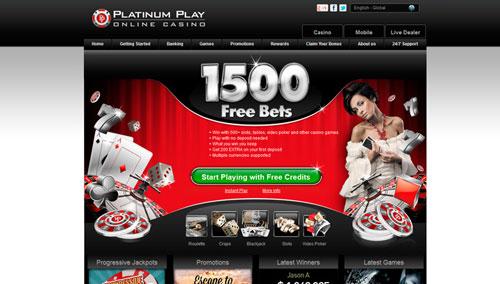 Www.Platinum Play Online Casino